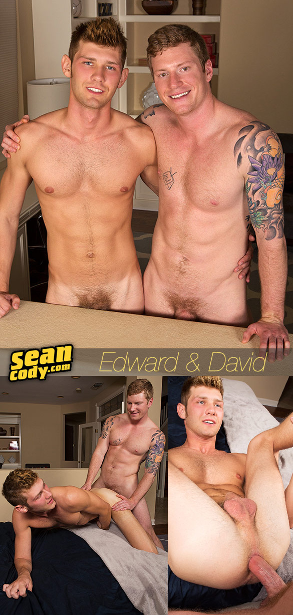 Sean Cody: David barebacks Edward
