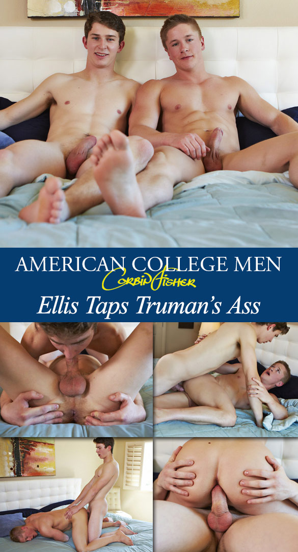 Corbin Fisher: Ellis bangs Truman raw