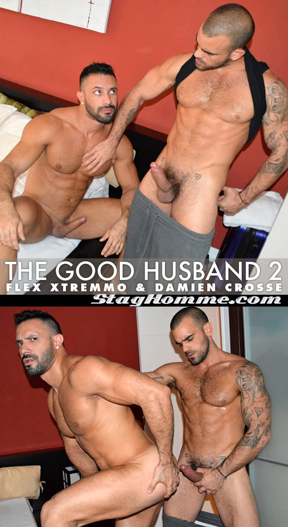 """Stag Homme: Damien Crosse pounds Flex Xtremmo in """"The Good Husband 2"""""""