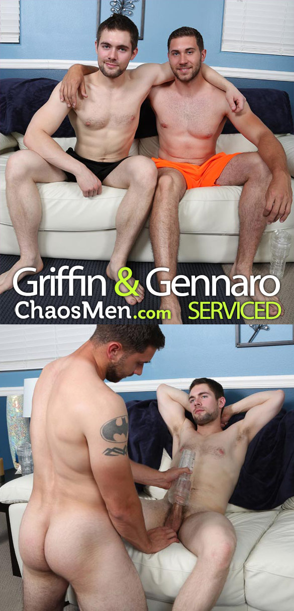 ChaosMen: Gennaro and Griffin get each other off
