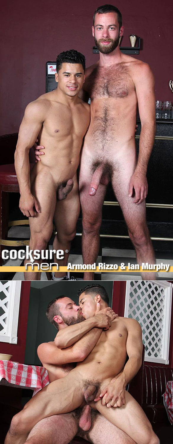 CocksureMen: Ian Murphy pounds Armond Rizzo bareback