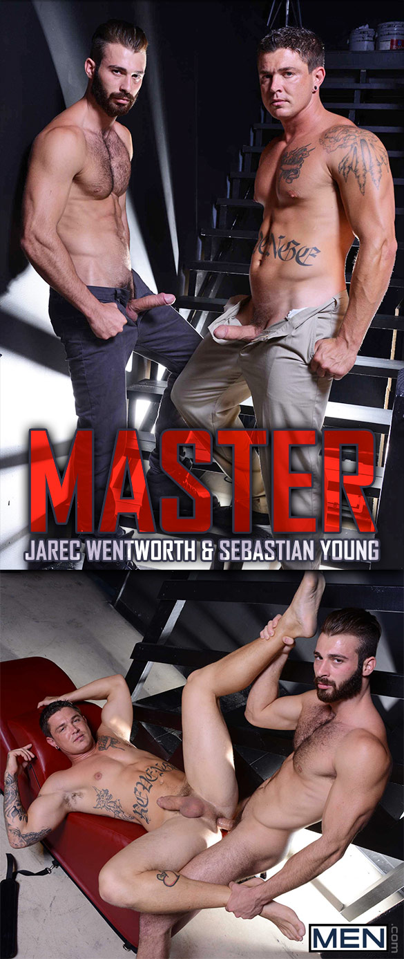 "Men.com: Sebastian Young gets pounded by Jarec Wentworth in ""Master"""