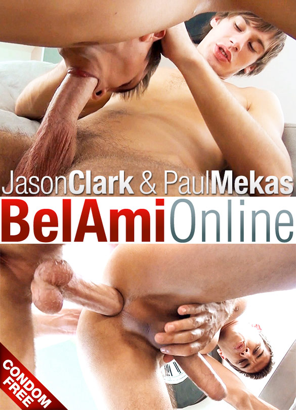 BelAmi: Paul Mekas barebacks Jason Clark