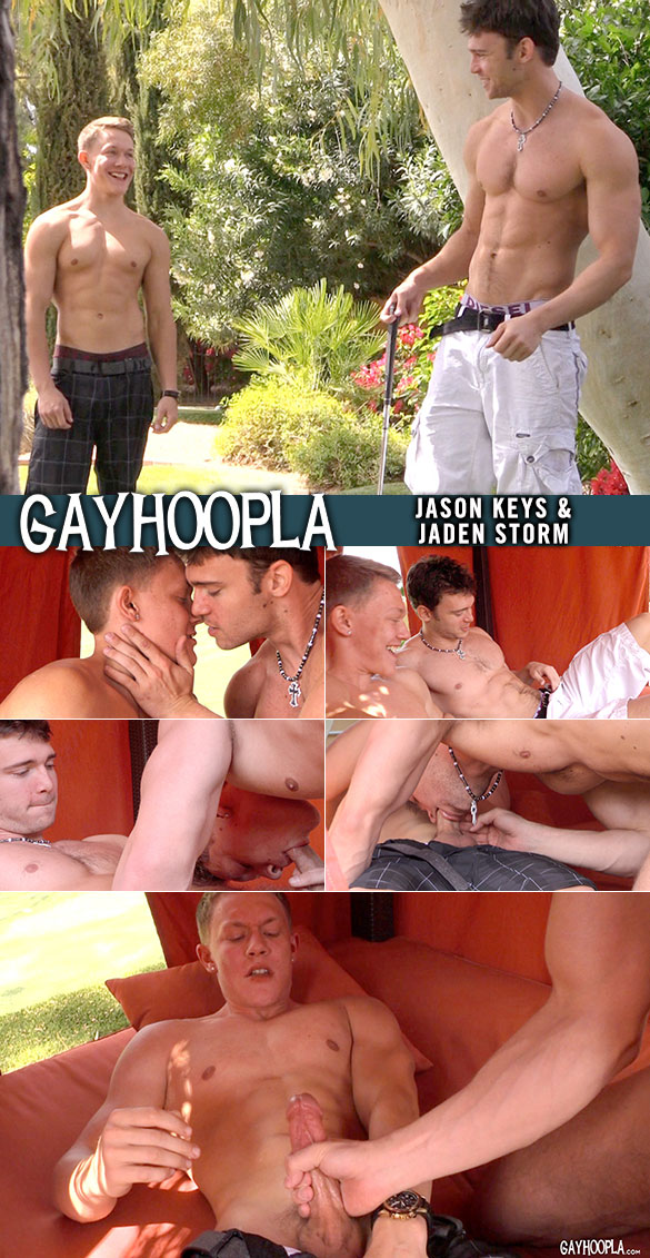 GayHoopla: Jaden Storm and Jason Keys blow each other