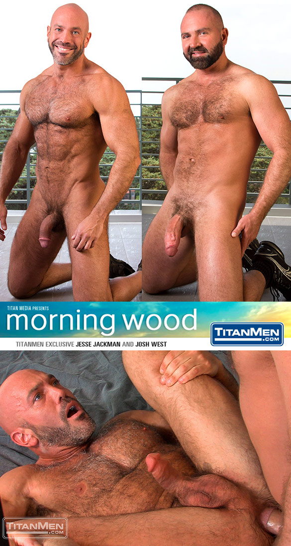 "TitanMen: Jesse Jackman bottoms for Josh West in ""Morning Wood"""