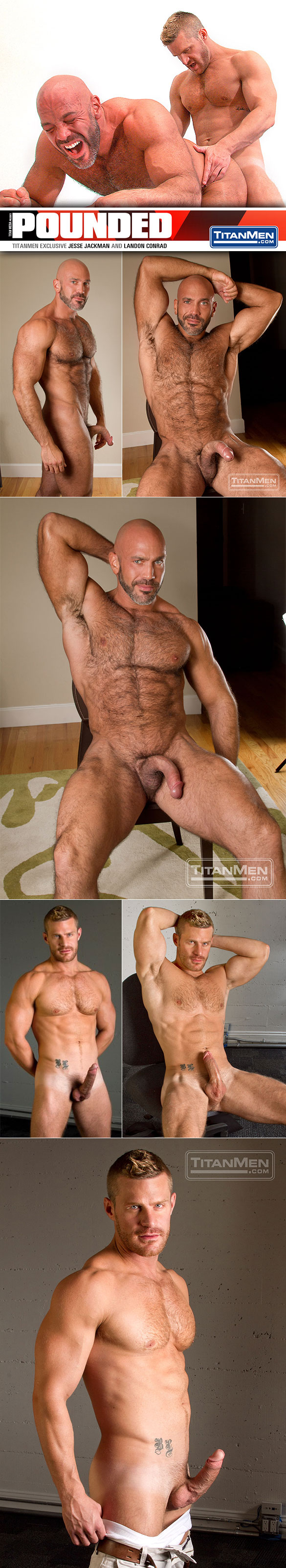 "Titan Men: Landon Conrad fucks Jesse Jackman in ""Pounded"""