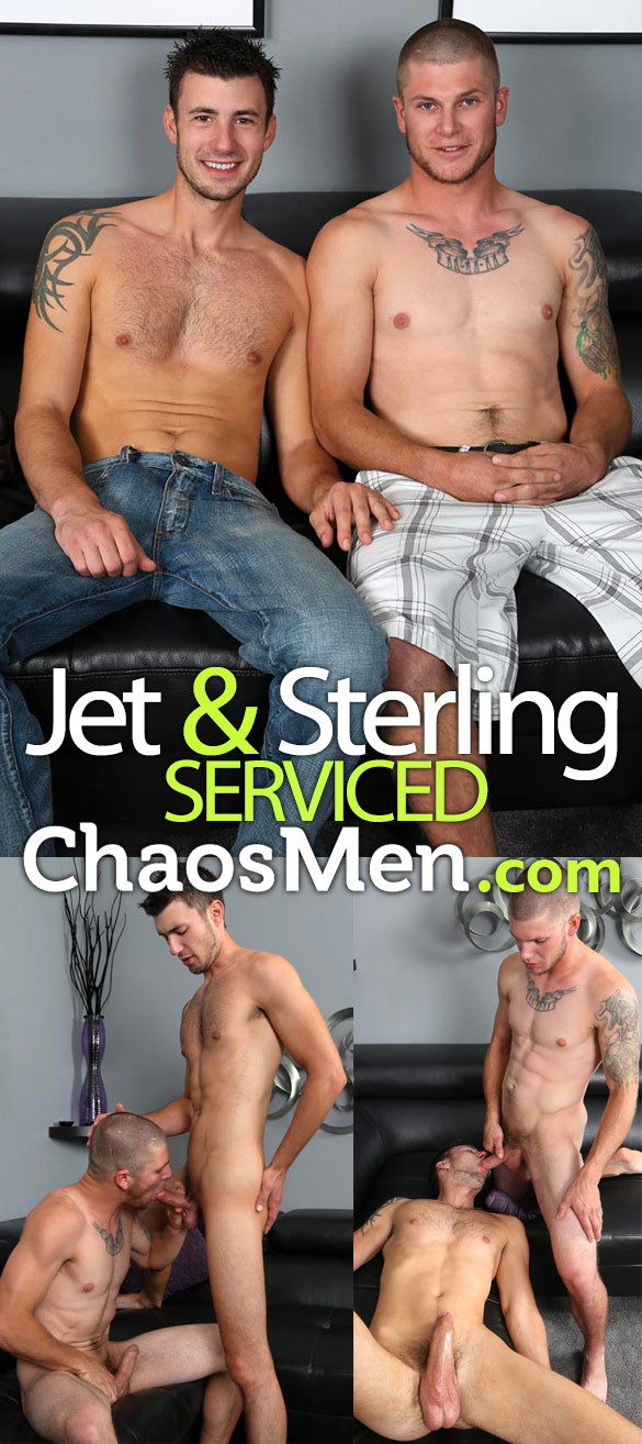 ChaosMen: Jet and Sterling blow each other