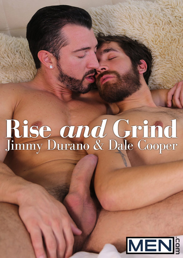 "Men.com: Dale Cooper rides Jimmy Durano's big dick in ""Rise and Grind"""