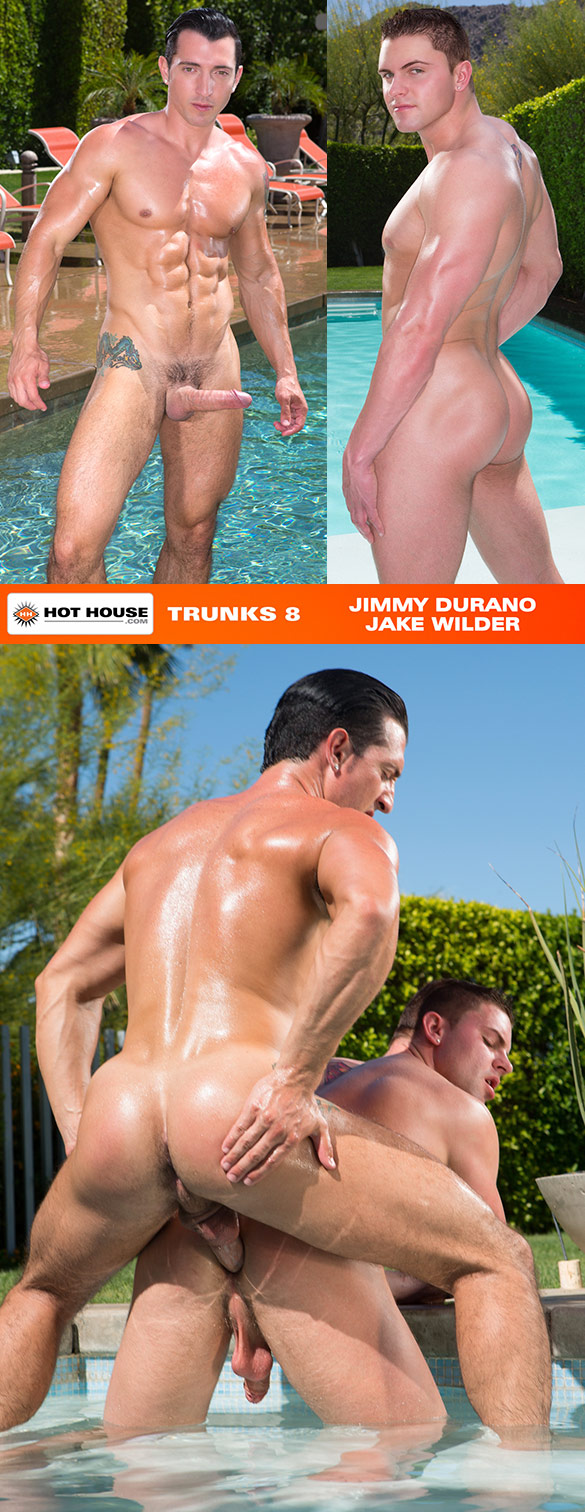 "HotHouse: Jimmy Durano bangs Jake Wilder in ""Trunks 8"""