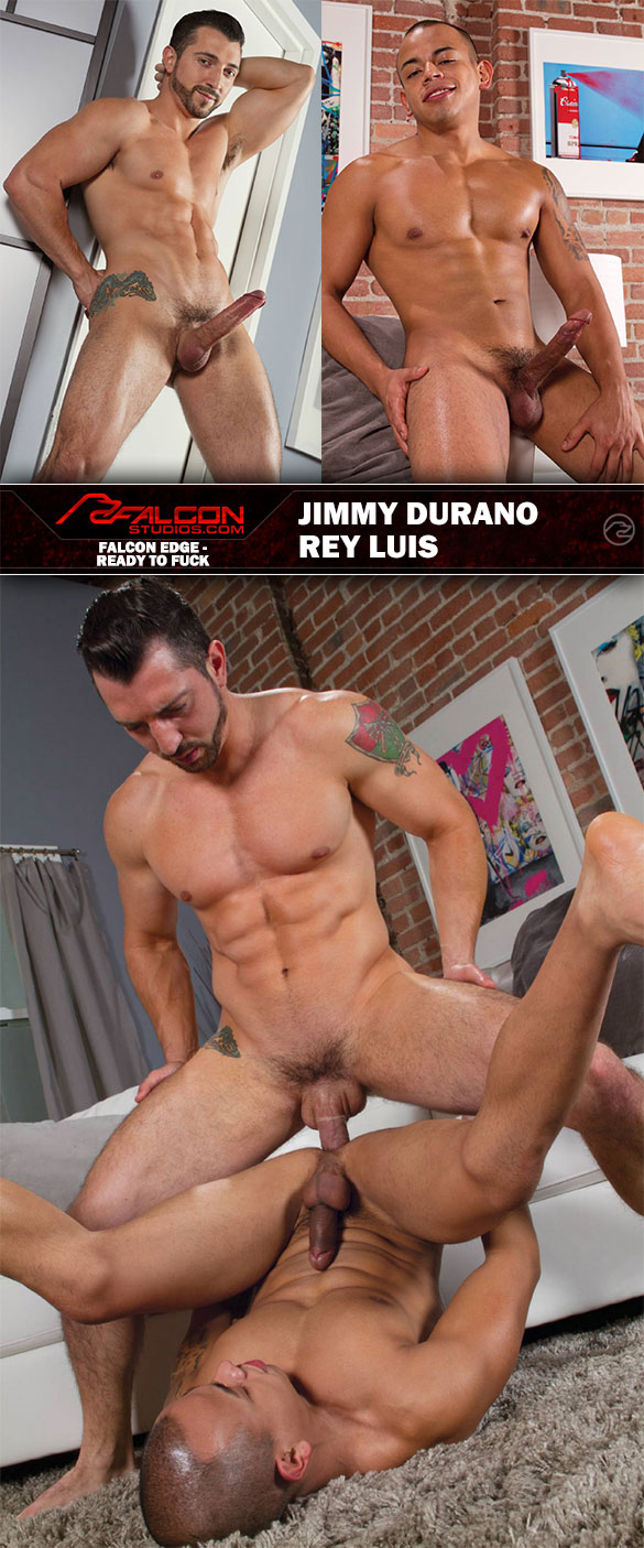 "Falcon Studios: Jimmy Durano bangs Rey Luis in ""Ready To Fuck"""