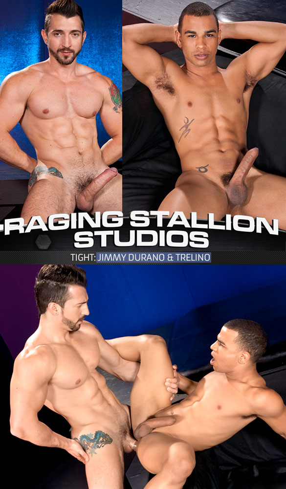 "Raging Stallion: Jimmy Durano pounds Trelino in ""Tight"""