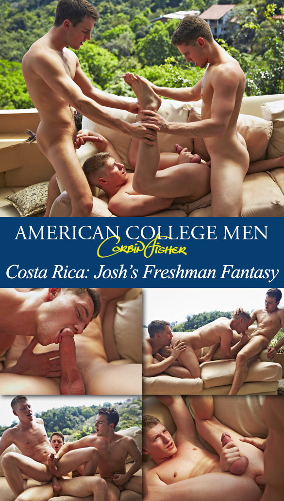 Corbin Fisher: Tyler, Kennedy and Josh's hot bareback threeway