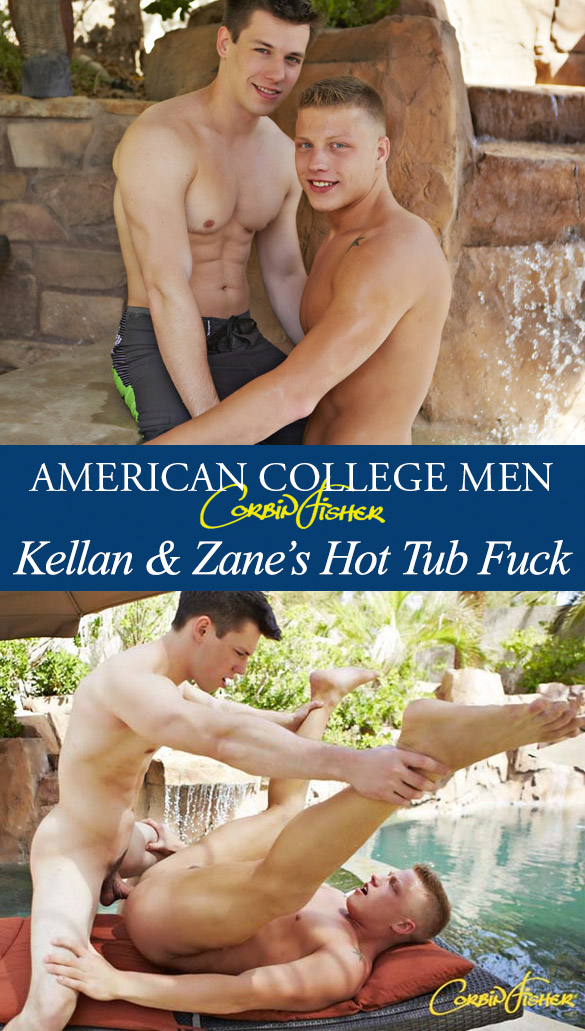 Corbin Fisher: Kellan bangs Zane raw