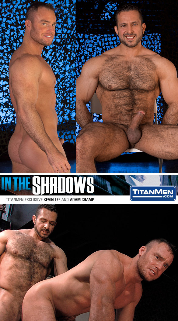 "TitanMen: Adam Champ fucks Kevin Lee in ""In the Shadows"""