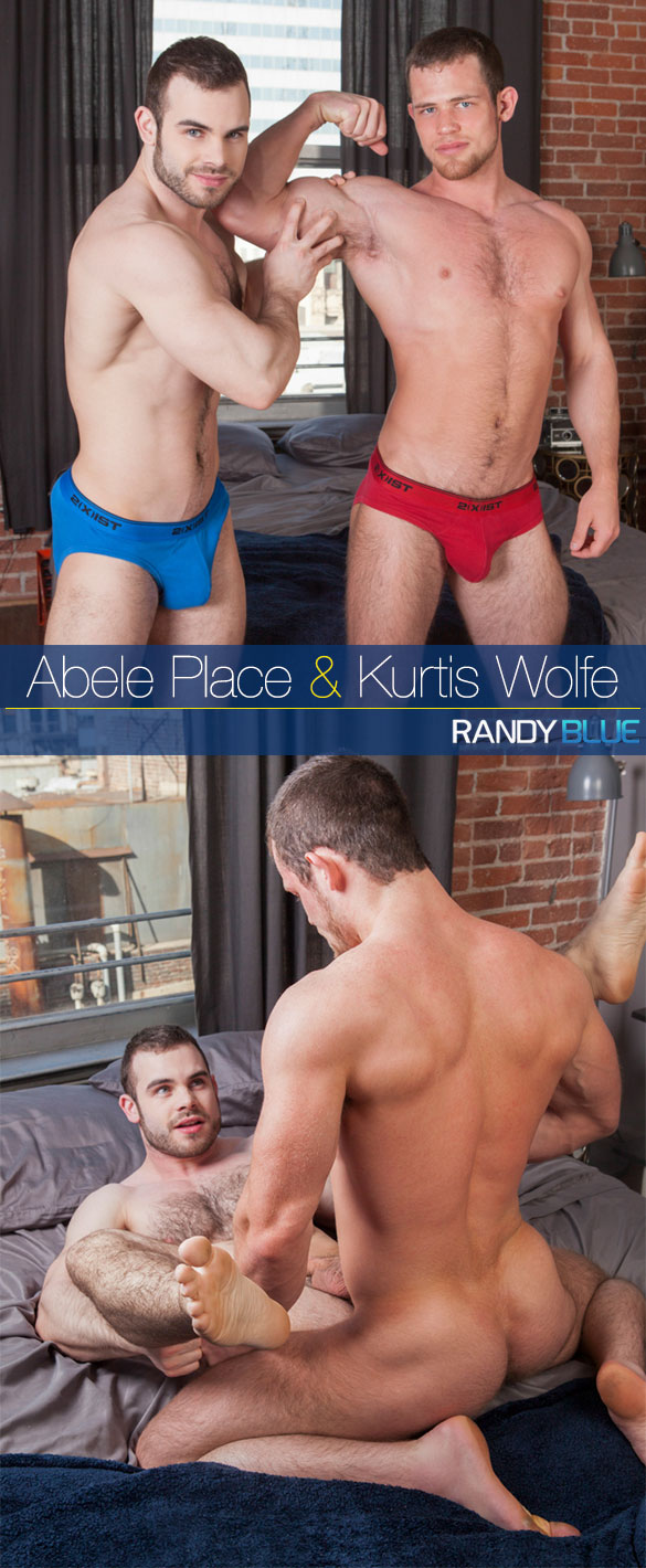 Randy Blue: Kurtis Wolfe fucks Abele Place