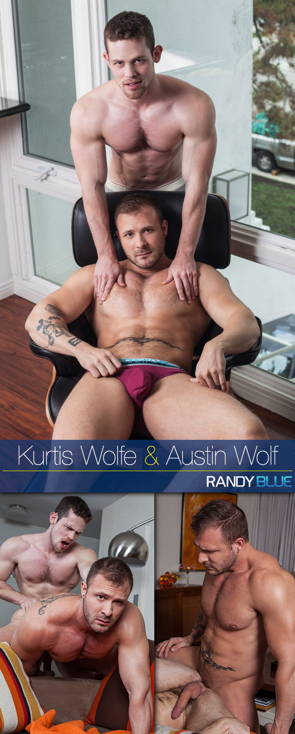 Randy Blue: Kurtis Wolfe and Austin Wolf fuck each other