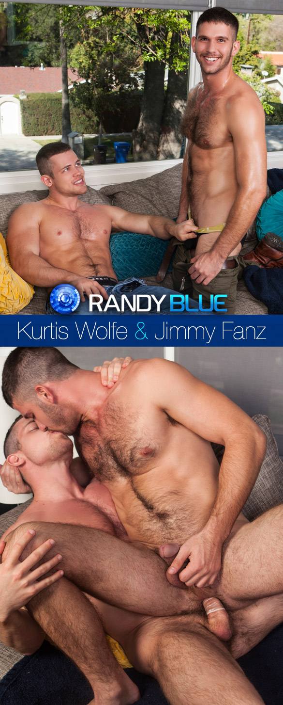 Randy Blue: Kurtis Wolfe bangs Jimmy Fanz