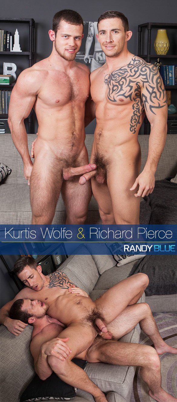 Randy Blue: Kurtis Wolfe fucks Richard Pierce