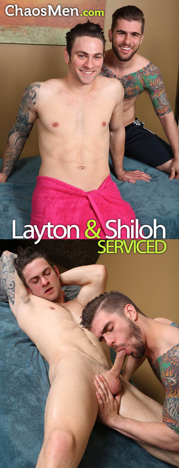 ChaosMen: Layton gets serviced by Shiloh