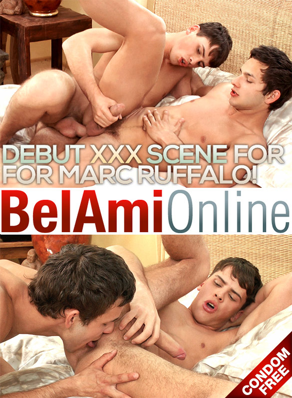 BelAmi: Marc Ruffalo and Billy Montague fuck each other raw
