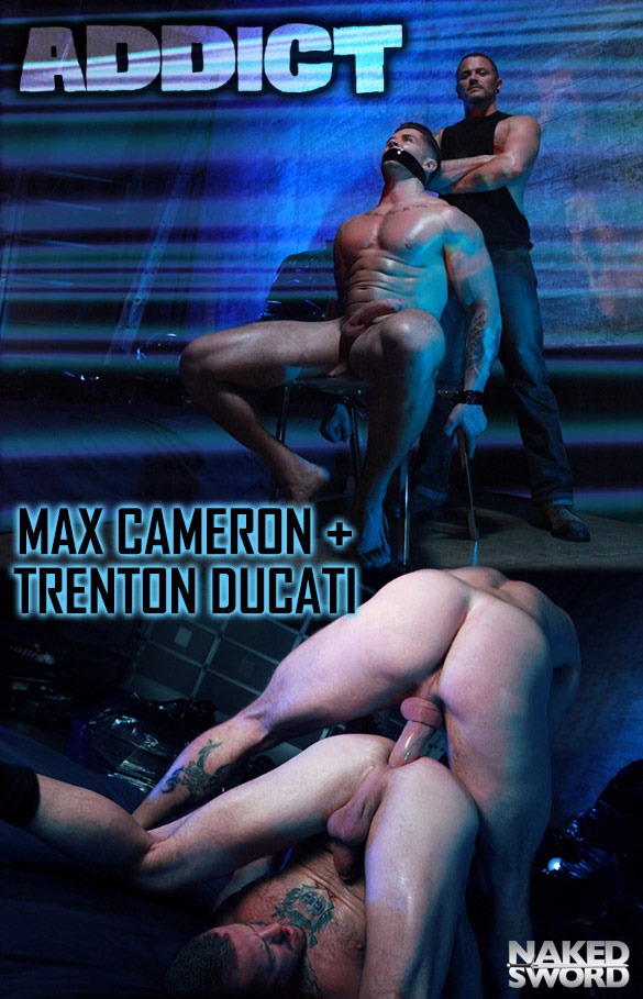 "Naked Sword Originals: Trenton Ducati and Max Cameron flip fuck in ""Addict, Episode 1: Addicted To Power"""
