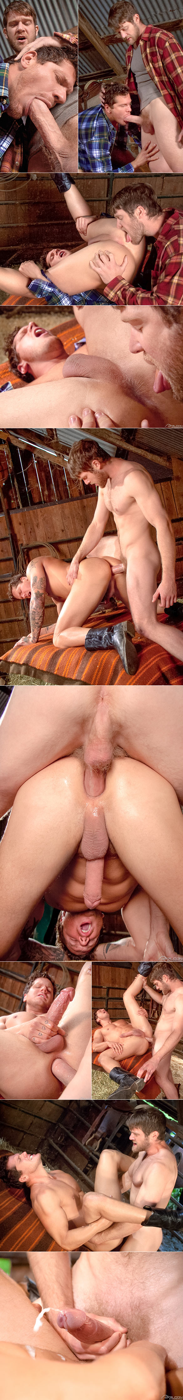 "Falcon Studios: Colby Keller pounds Parker London in ""Cowboys"""