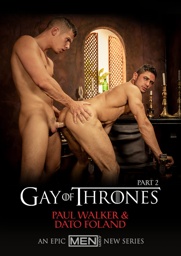"Men.com: Dato Foland and Paul Walker flip fuck in ""Gay of Thrones, Part 2"""
