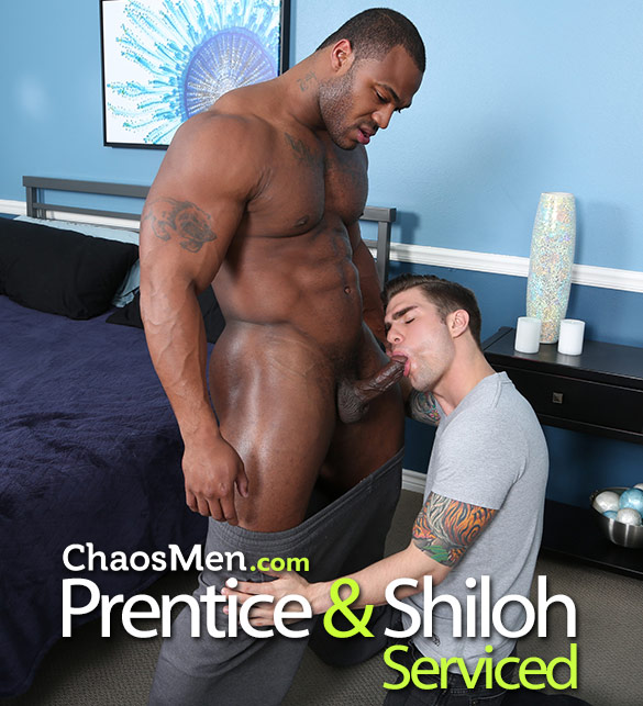 ChaosMen: Prentice gets serviced by Shiloh