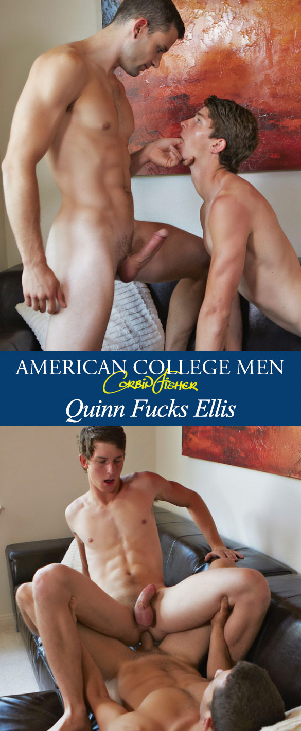 Corbin Fisher: Quinn pounds Ellis raw
