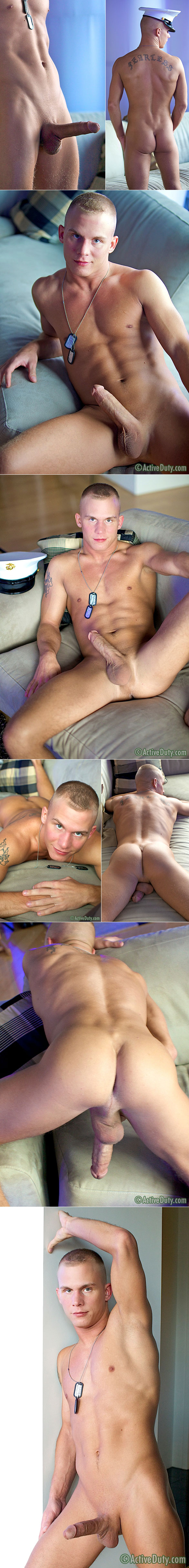 Active Duty: Marine Shawn busts a nut