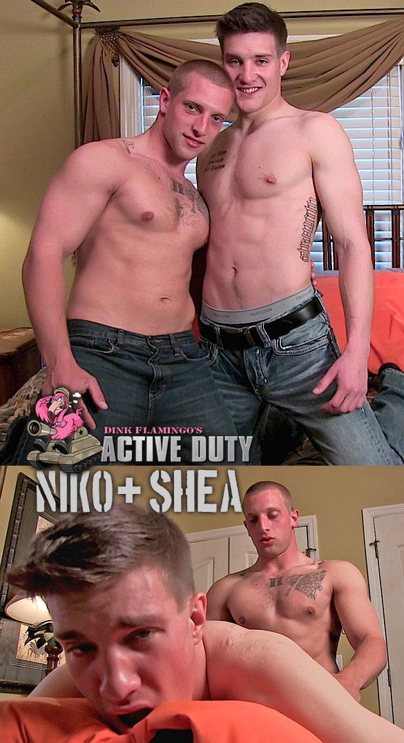 ActiveDuty: Niko and Shea flip fuck