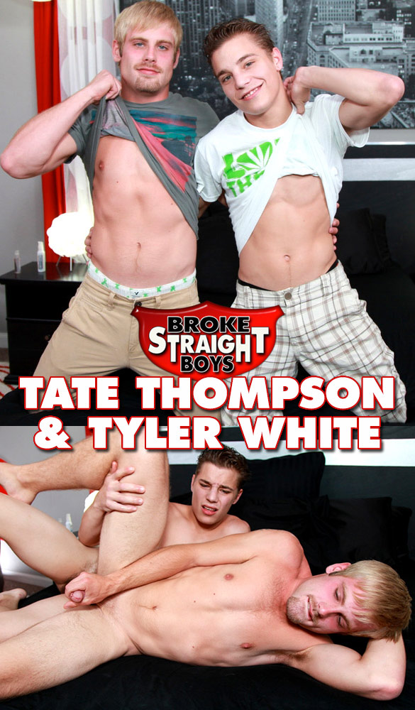 Broke Straight Boys: Tyler White fucks Tate Thompson