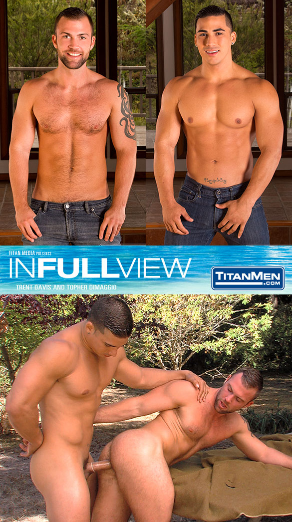 "TitanMen: Topher DiMaggio fucks Trent Davis in ""In Full View"""