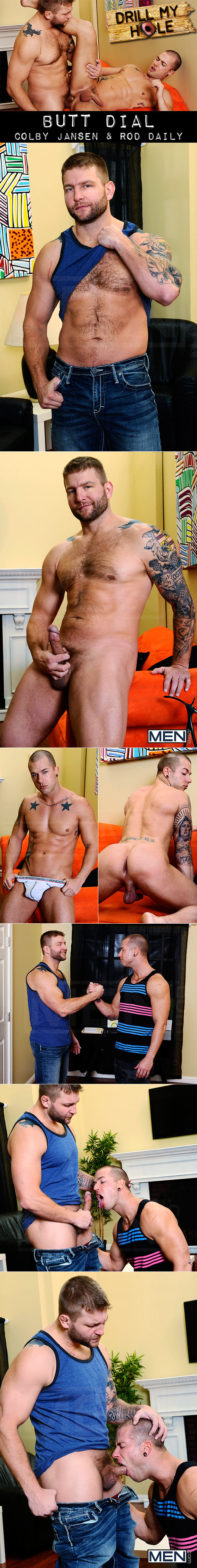 "Men.com: Colby Jansen pounds Rod Daily in ""Butt Dial"""