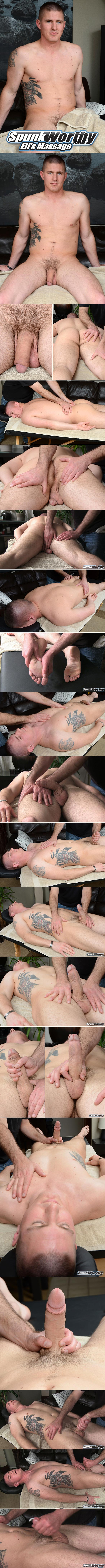 SpunkWorthy: Marine Eli gets a special massage