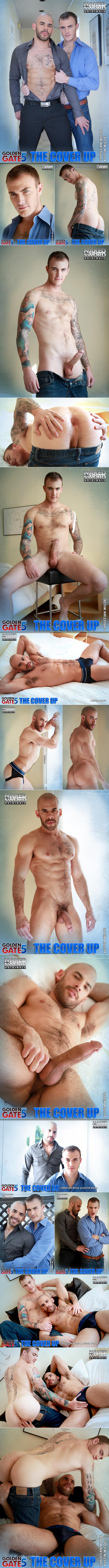 "NakedSword Originals: Chrstian Wilde bottoms for the first time in ""Golden Gate Season 5 - The Cover Up"" (Episode 4)"