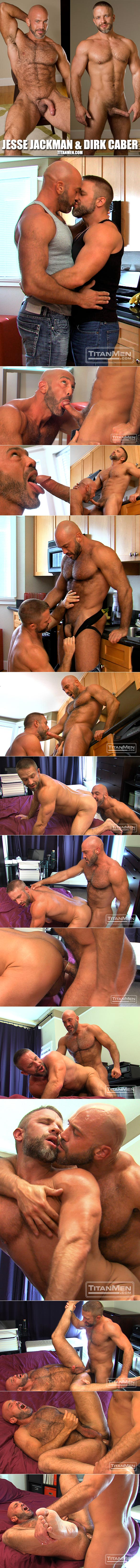 "TitanMen: Muscle hunks Jesse Jackman and Dirk Caber bang each other in ""Extra Firm"""