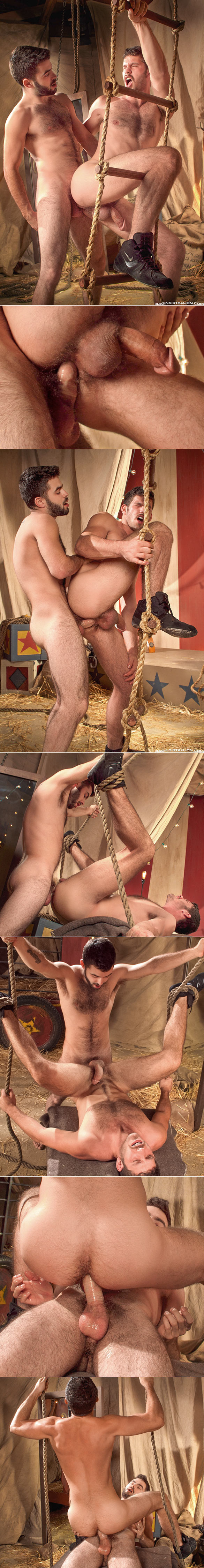 "Raging Stallion: Josh Long fucks Jimmy Fanz in ""Behind The Big Top"""