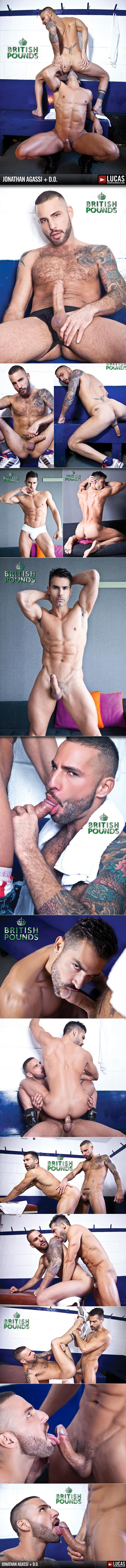 "LucasEntertainment: D.O. and Jonathan Agassi work up a sweat in ""British Pounds"""