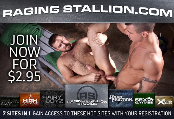 Join Raging Stallion for $2.95