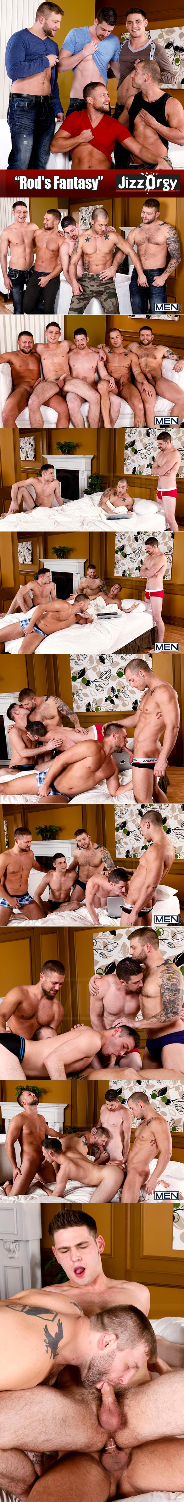 "Men.com: ""Rod's Fantasy"" with Rod Daily, Bobby Clark, Colby Jansen, Andrew Stark and Duncan Black"