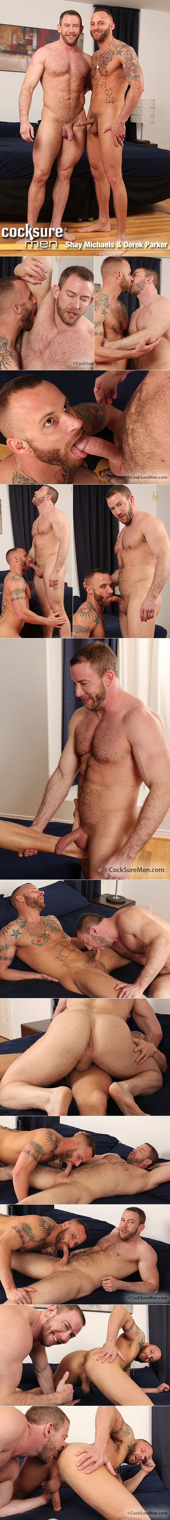 CocksureMen: Shay Michaels fucks Derek Parker