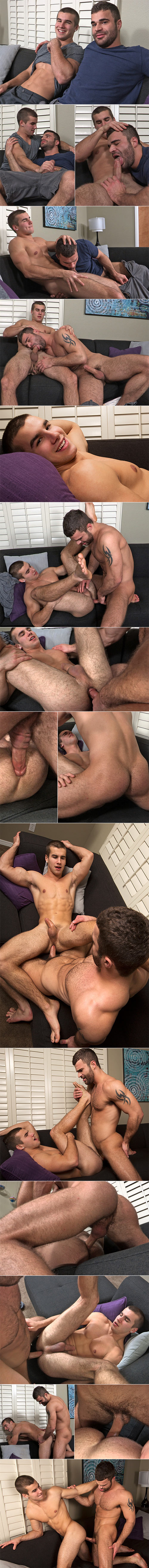 SeanCody: Pavel pops Stu's ass cherry