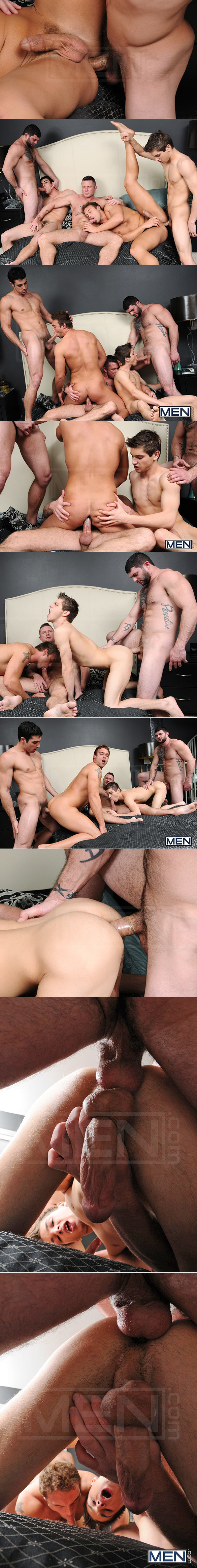 "Men.com: Johnny Rapid, Tony Paradise, Rocco Reed, Charlie Harding and Jack King in ""Tops Only Required"""