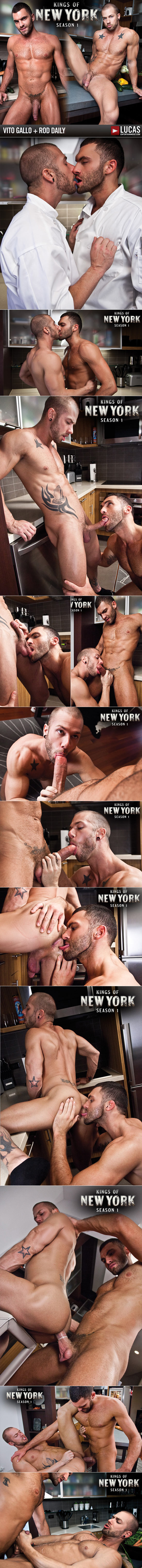 "LucasEntertainment: Rod Daily rides Vito Gallo's cock in ""Kings of New York, Season 1"""