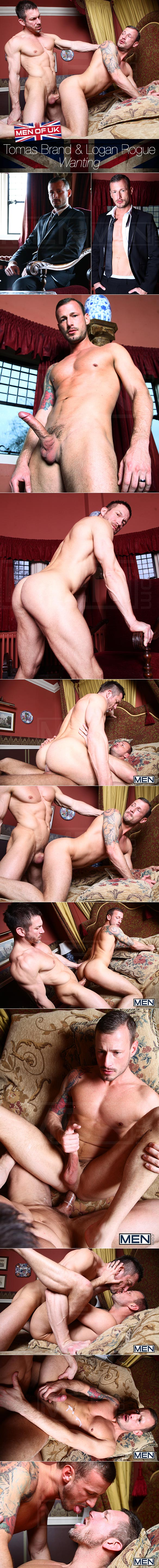 "Men.com: Tomas Brand fucks Logan Rogue in ""Wanting"""